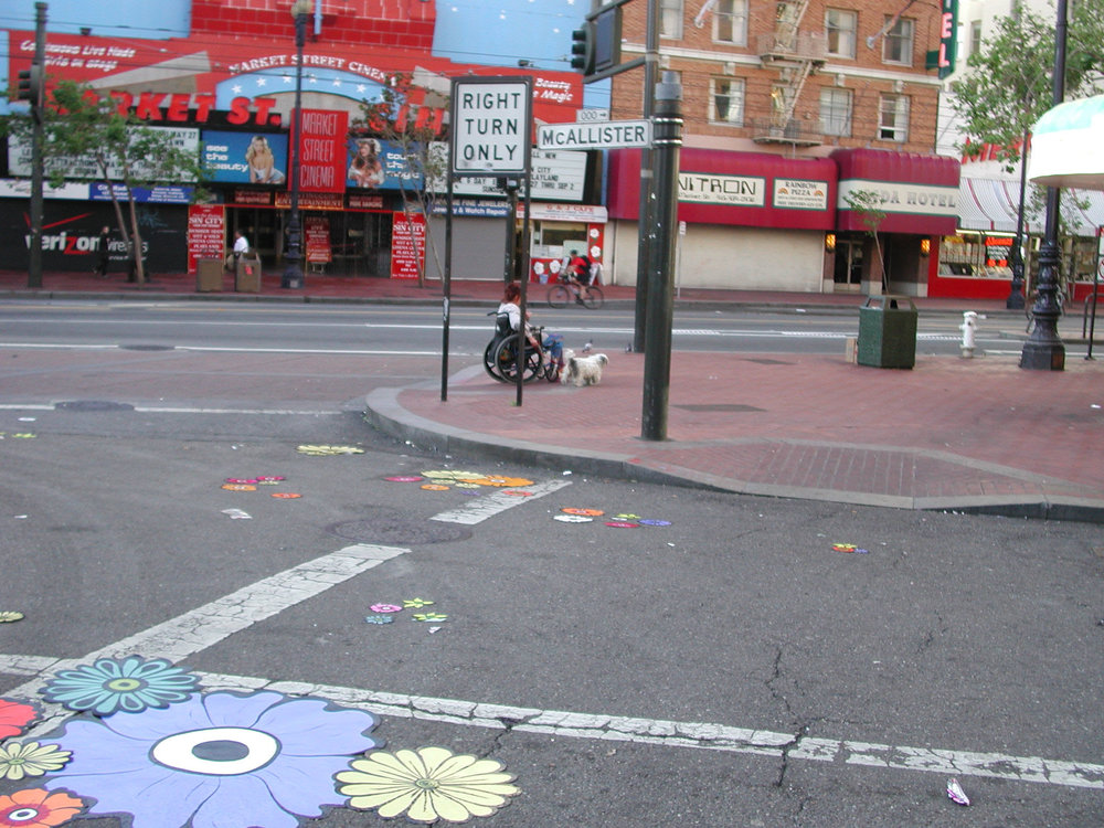 Site -- corner Market & McAllister --woman in wheelchair 2.jpg