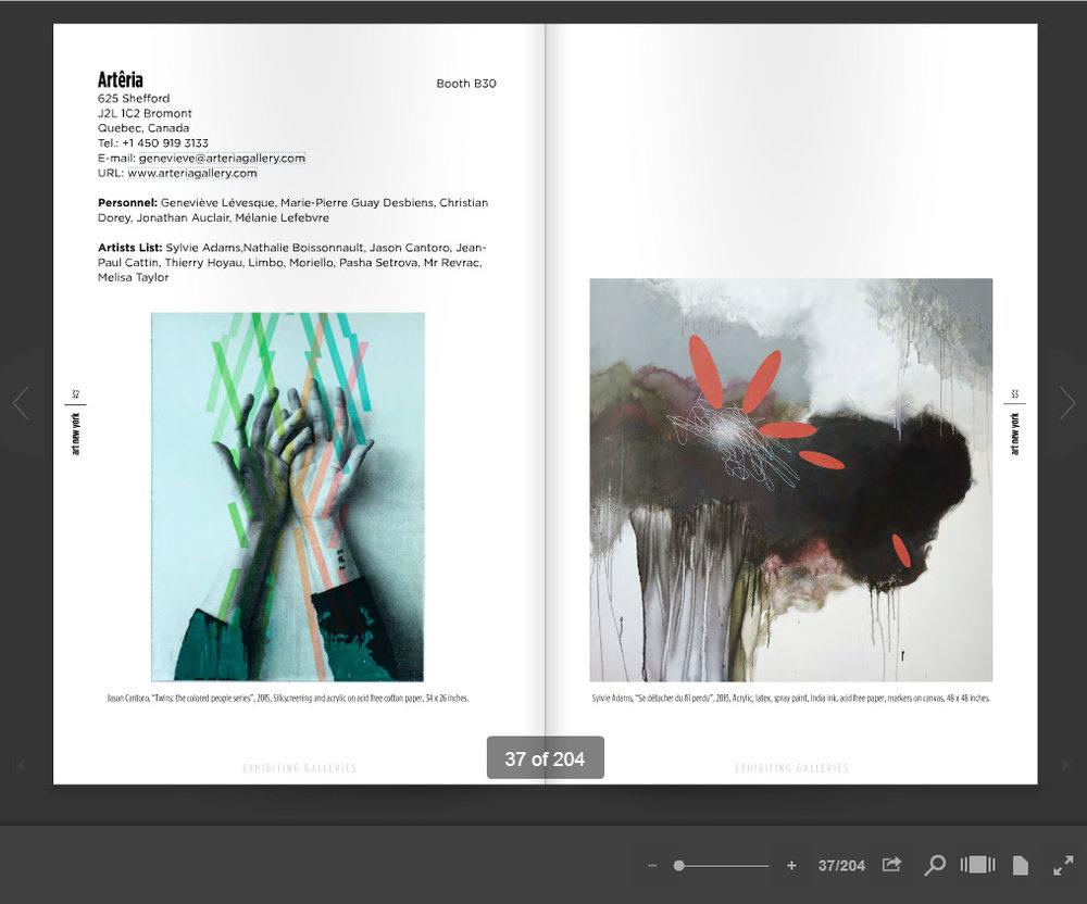Catalogue ArtNewYork 2016