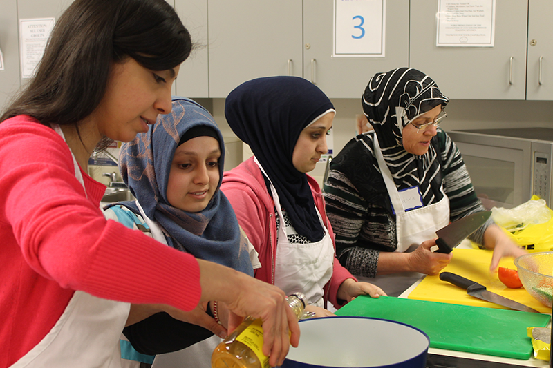Food Matters Manitoba  This experiment at a food skills program in Winnipeg, Manitoba, aimed to equip immigrants and refugees with the tools they need to overcome barriers to a healthy lifestyle as they transition to life in Canada.