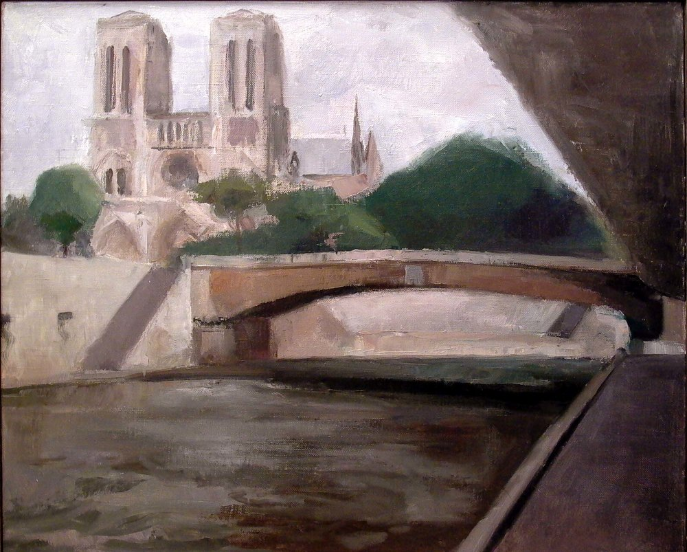 Notre Dame, 20 x 24 inches, oil on linen