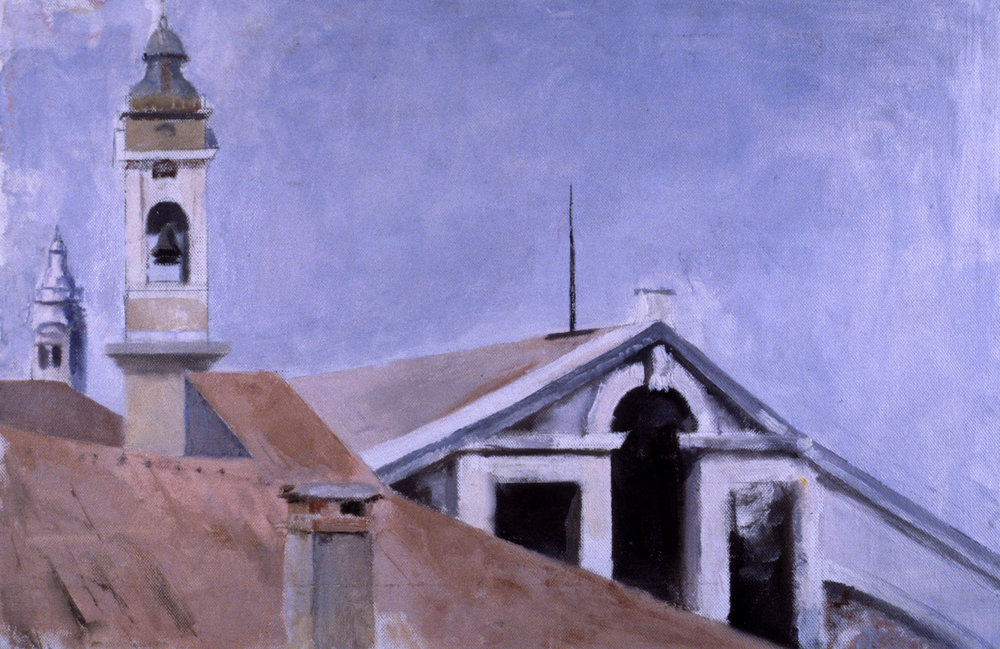 San Giuliano, 13 x 20 inches, oil on canvas on board