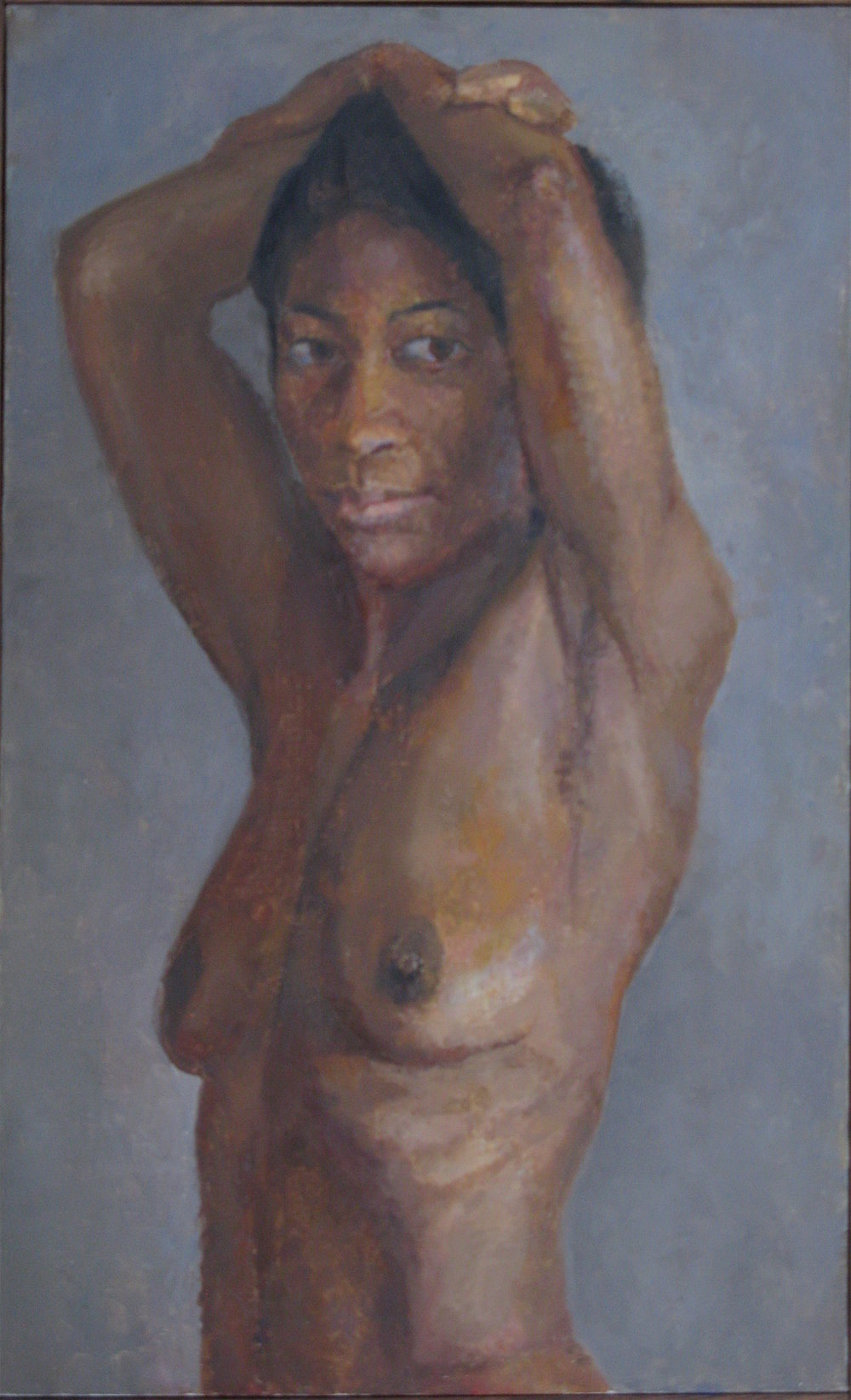 Female Nude, 26 x 16 inches, oil on linen