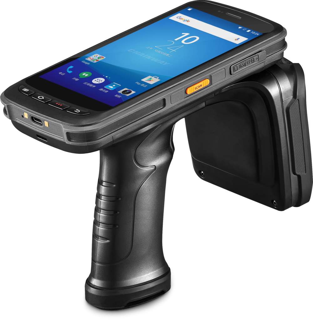 acc-72 rfid/image scanner - A low cost solution for mobile inventory applications..FeaturesAndroid 6.0              OS4G/Dual-band WIFI5.2'' IPS 1080P Screen      8000mAh Powerful BatteryIP65 Sealing             1.5m Drop ProofMade to perform in extremely high tag density environments