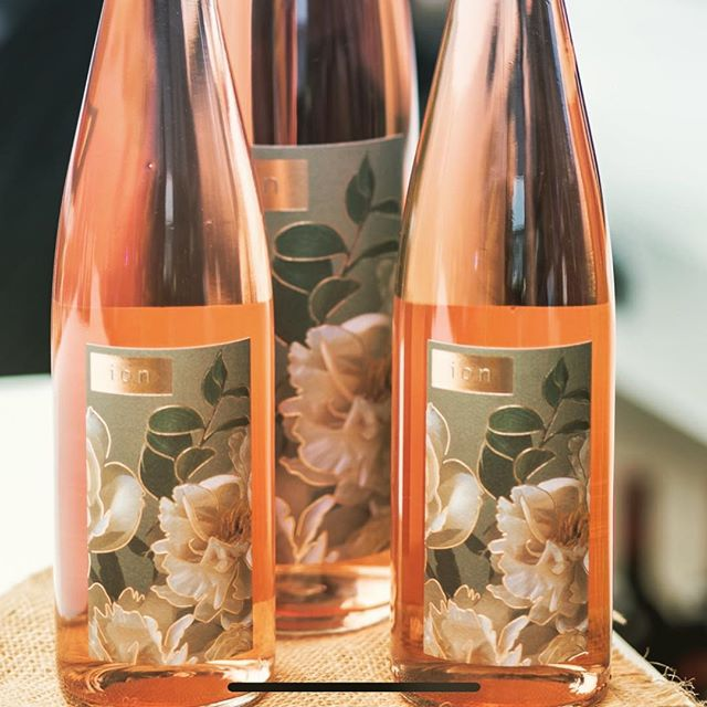 They say threes a crowd. We disagree. #rosé #roséwine #daydrinking #ion #roseofpinotnoir #roseallday #roséallday