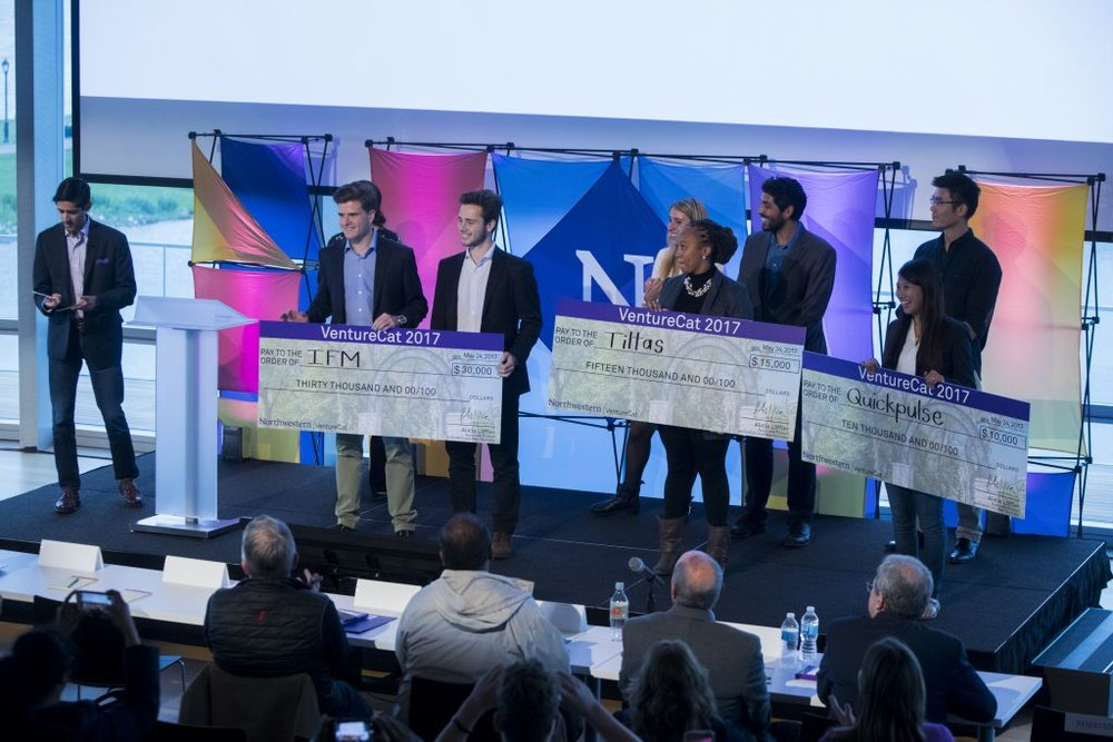 Northwestern VentureCat start-up competition