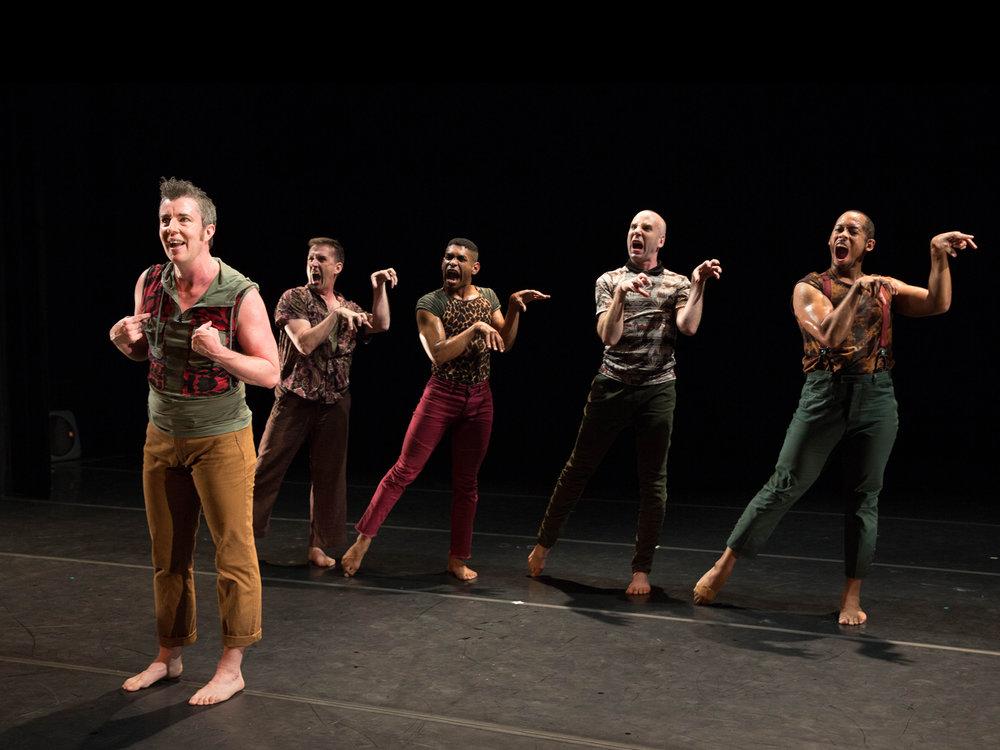 Sean Dorsey Dance, BOYS IN TROUBLE. Photo by:Lydia Daniller