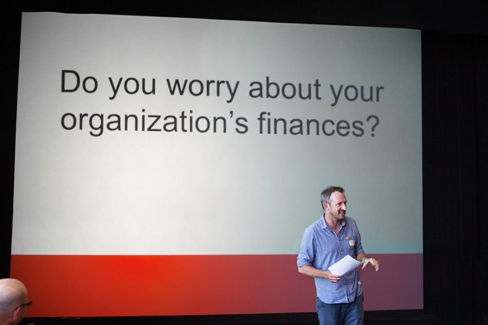 Of course you worry about your organization's finances! Principal Marc Vogl leads fundraising trainings so Boards can spend less time worrying and more time raising money.