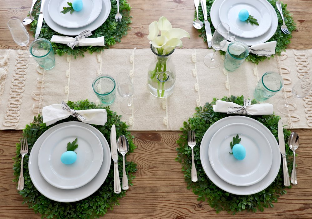 Come set the table for spring & How to: Set the Table \u2014 IVY + MODERN