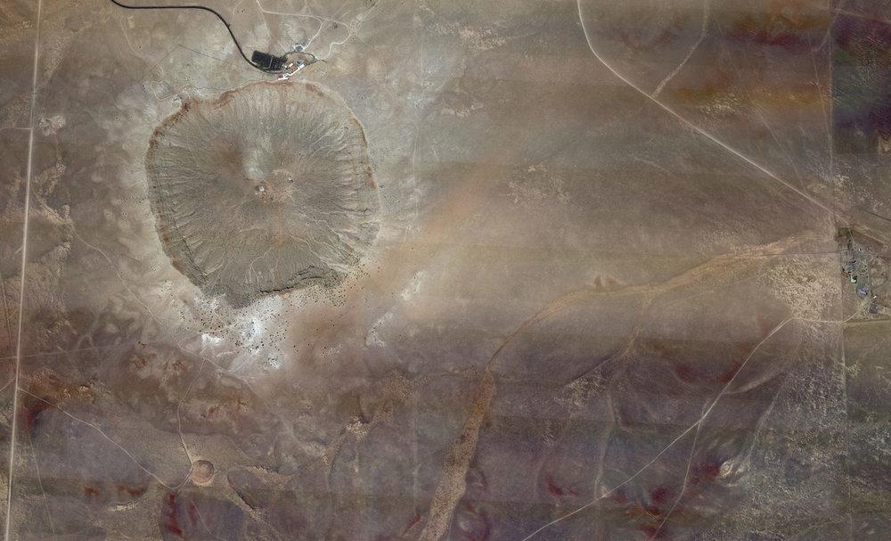 Meteor Crater, Coconino County, Arizona), 2013. Archival pigment print