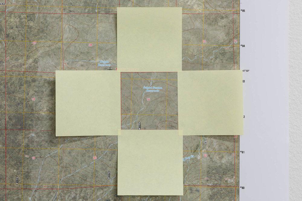 Detail of Toponymic Proposal #1 (Llano Estacado), 2013/14