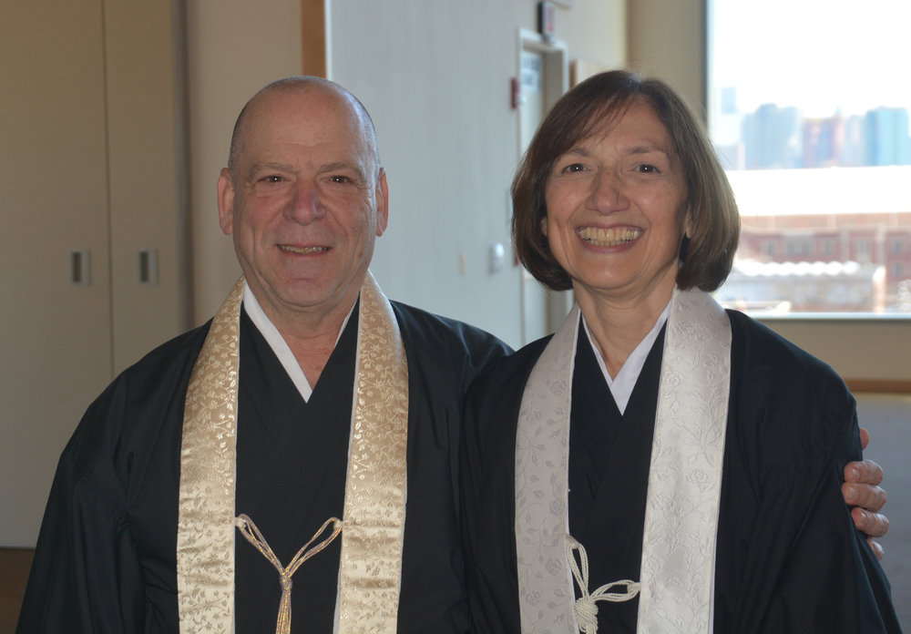 Sensei Ray and Sensei Michele