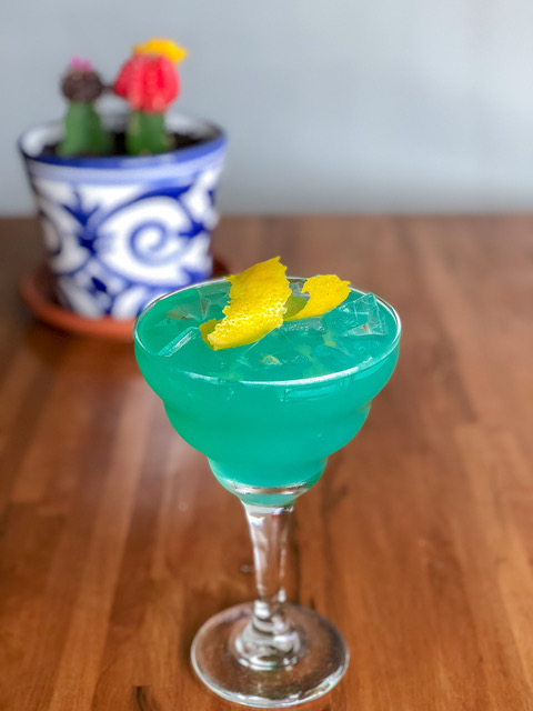 Mochina Blue Cocktail