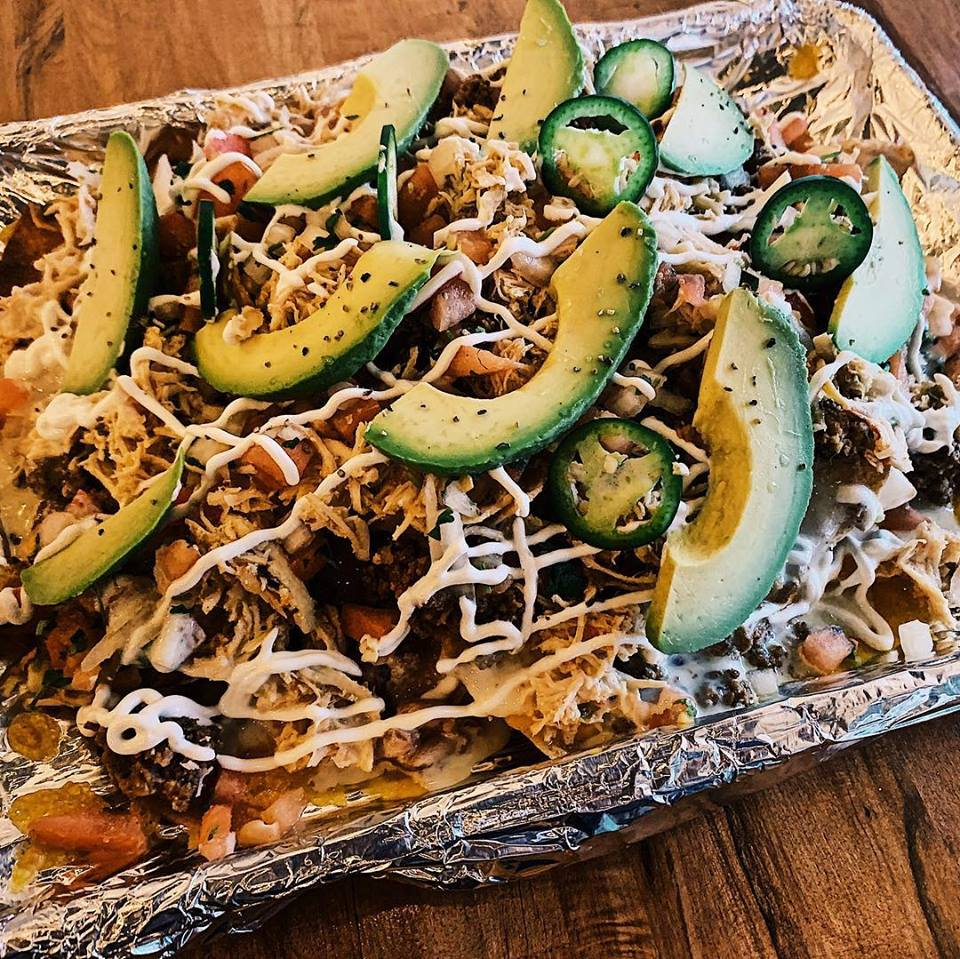 Combination Nachos?? Always a great option
