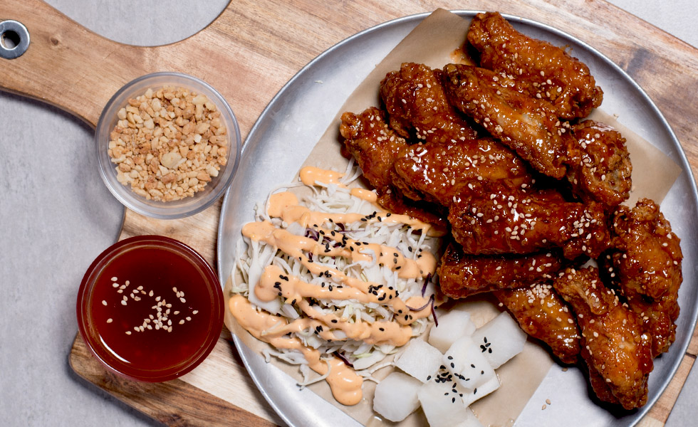 SWEET & SPICY CHICKEN WING