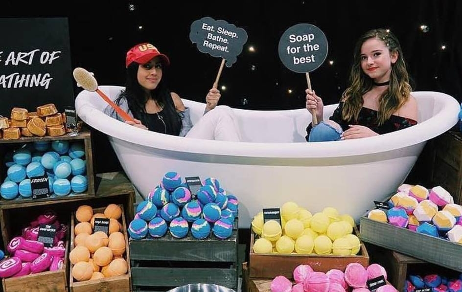Lush Activation - Teen Vibes Sydney