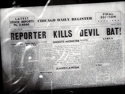 DevilBat newspaper