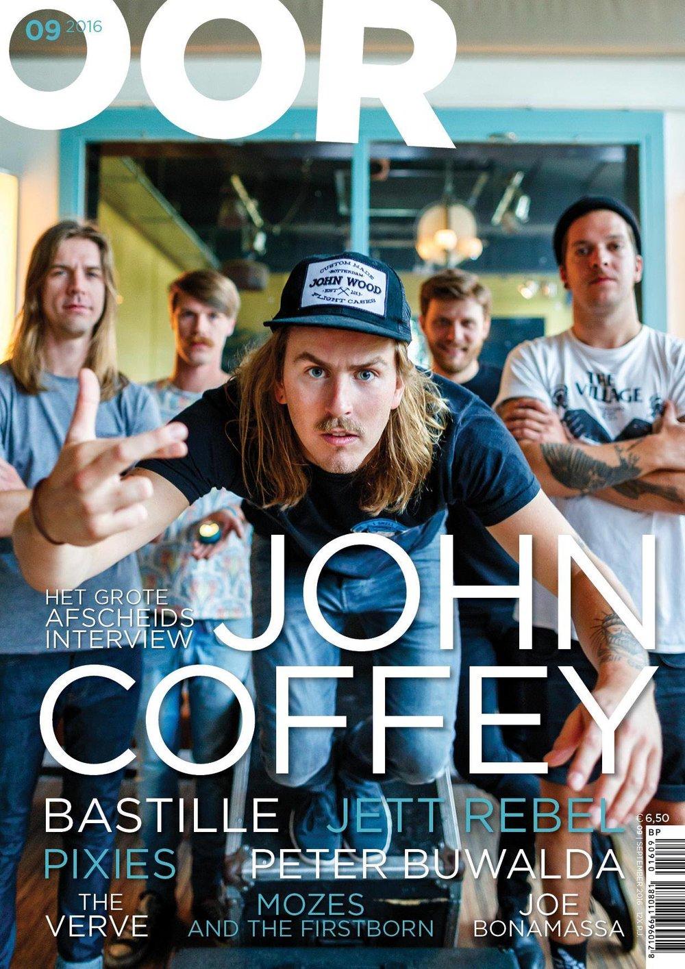 Copy of John Coffey cover OOR magazine