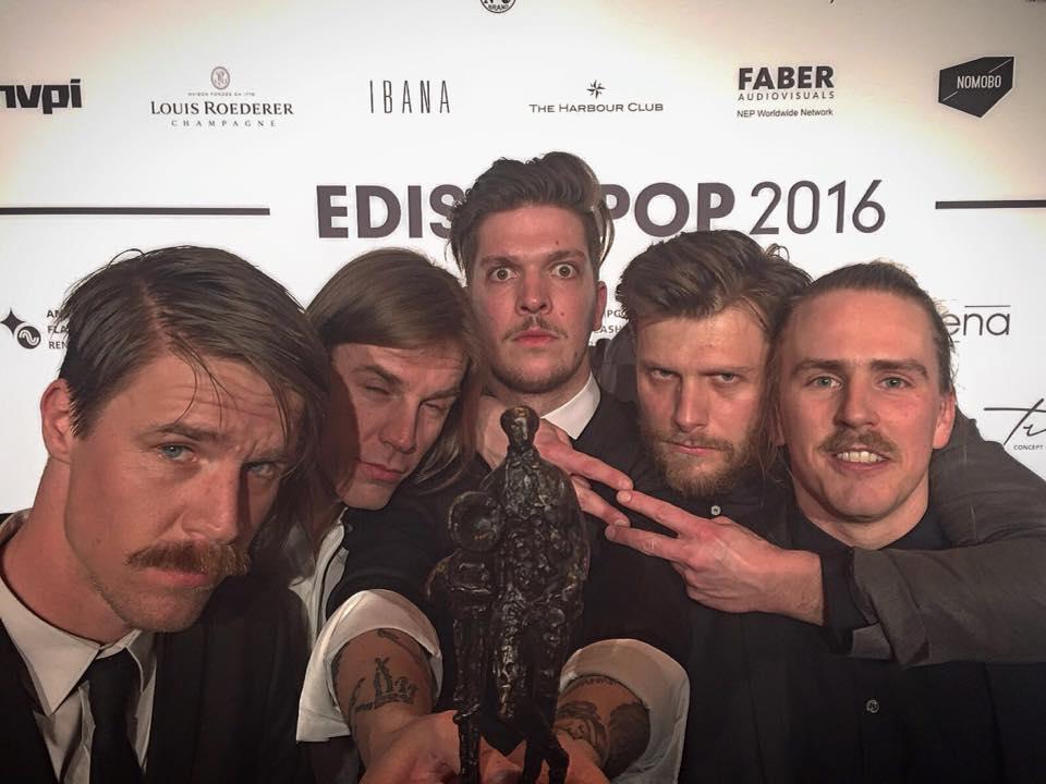 Copy of John Coffey winnaar Edison Pop 2016