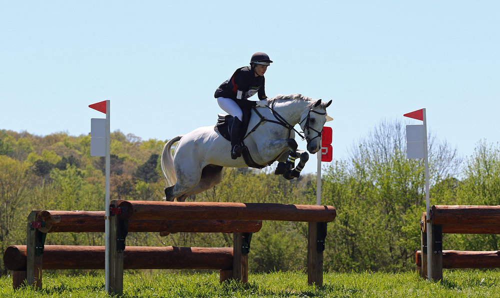 Blitz Volo & Sara Beth Competing at Chatt Hills - Sara Beth acquired 'Henry' in 2012. The pair moved rapidly up the levels, and have competed through Intermediate & the CIC** level.