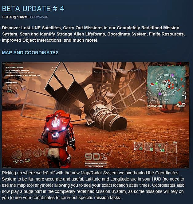 BETA UPDATE #4! Be sure to check us out on Steam!