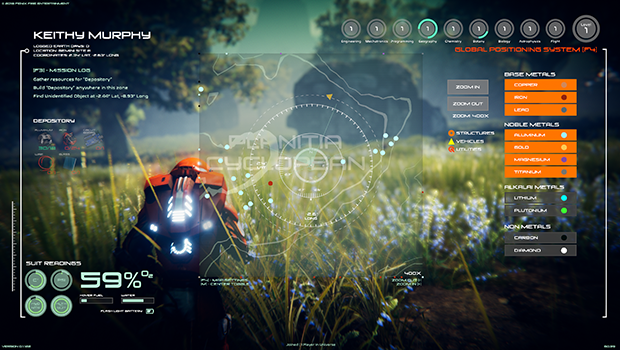 MAP AND COORDINATES - Some missions will rely on you to use your coordinates to carry out specific mission tasks