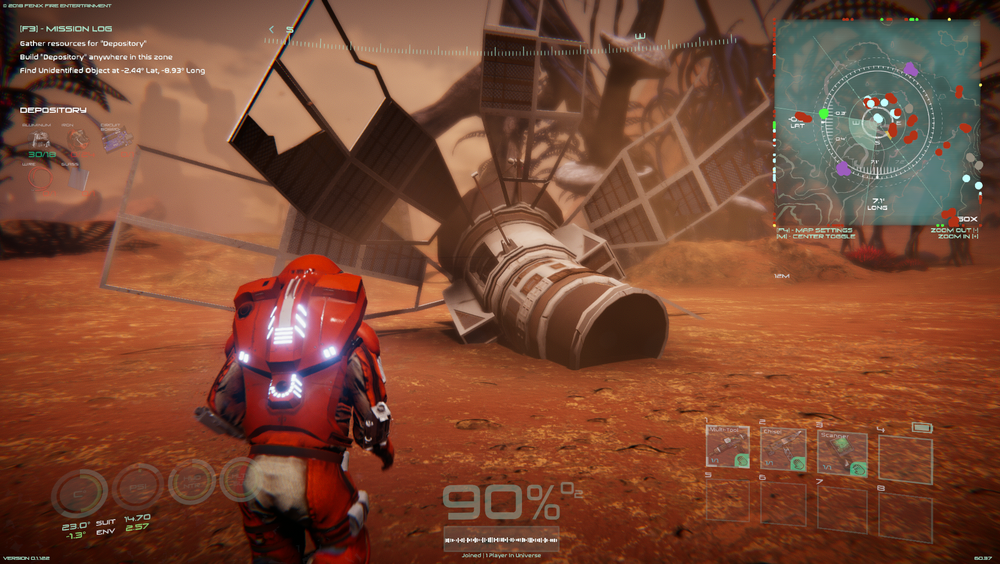 - Discover Lost UNE Satellites, Carry Out Missions in our Completely Redefined Mission System, Scan and Identify Strange Alien Lifeforms, Coordinate System, Finite Resources, Improved Object Interactions, and much more!
