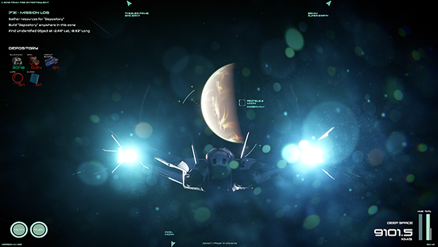 Planet Names on HUD - Much easier navigation while travelling in deep space.