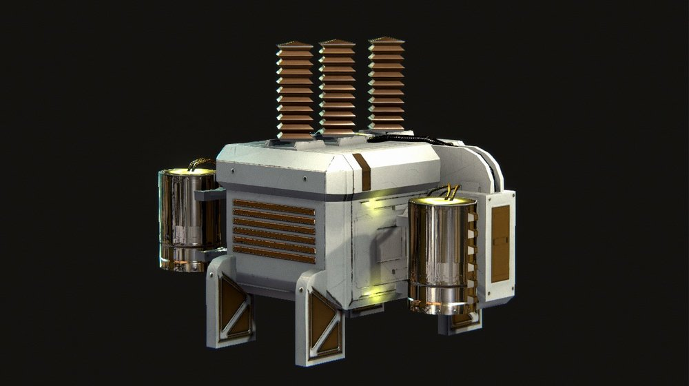 Power Grid - The Power Grid is vital equipment for power supplies that only harvest power when conditions are right, such as Solar Panels and Wind Turbines.The Power Grid will feed your Power Distributor so that all your equipment is properly powered. You can even build extras in case one Power Grid goes out.