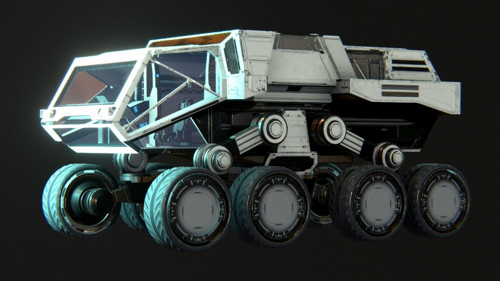 Rover Redesign - More spacious interior, improved seating, and more cargo room makes this the best-in-class-full size Rover.
