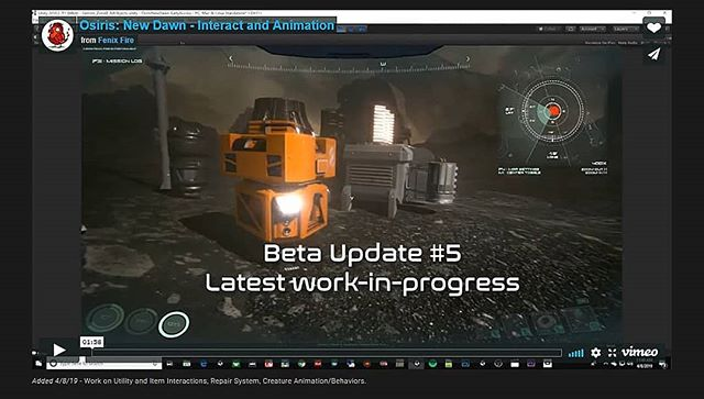 Please be sure to head over to our website, where you can watch a new video of our latest work-in-progress for our Beta #5 Update! The link will be listed below! http://www.fenixfire.com/roadmap