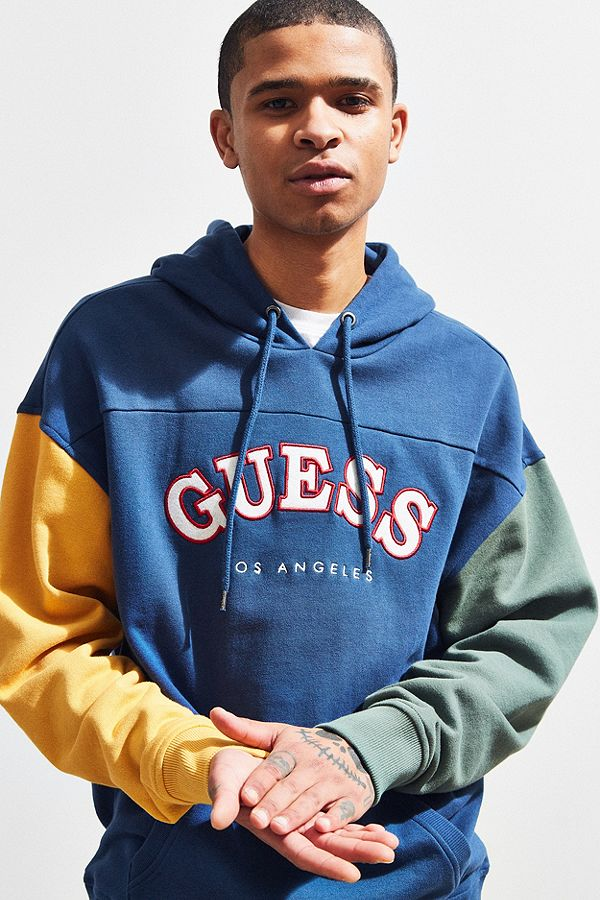The '90s are back with new exclusives from GUESS Jeans, only at Urban Outfitters. Shop our collection of throwback logo tees and striped shirts, updated denim and branded trucker jackets. Want more from brands we love? Check out our  new arrivals  for new men's clothing, shoes and accessories.