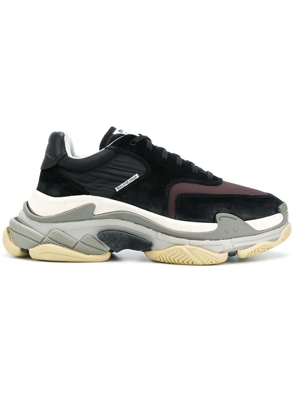 BALENCIAGA Triple S sneakers deadlaced