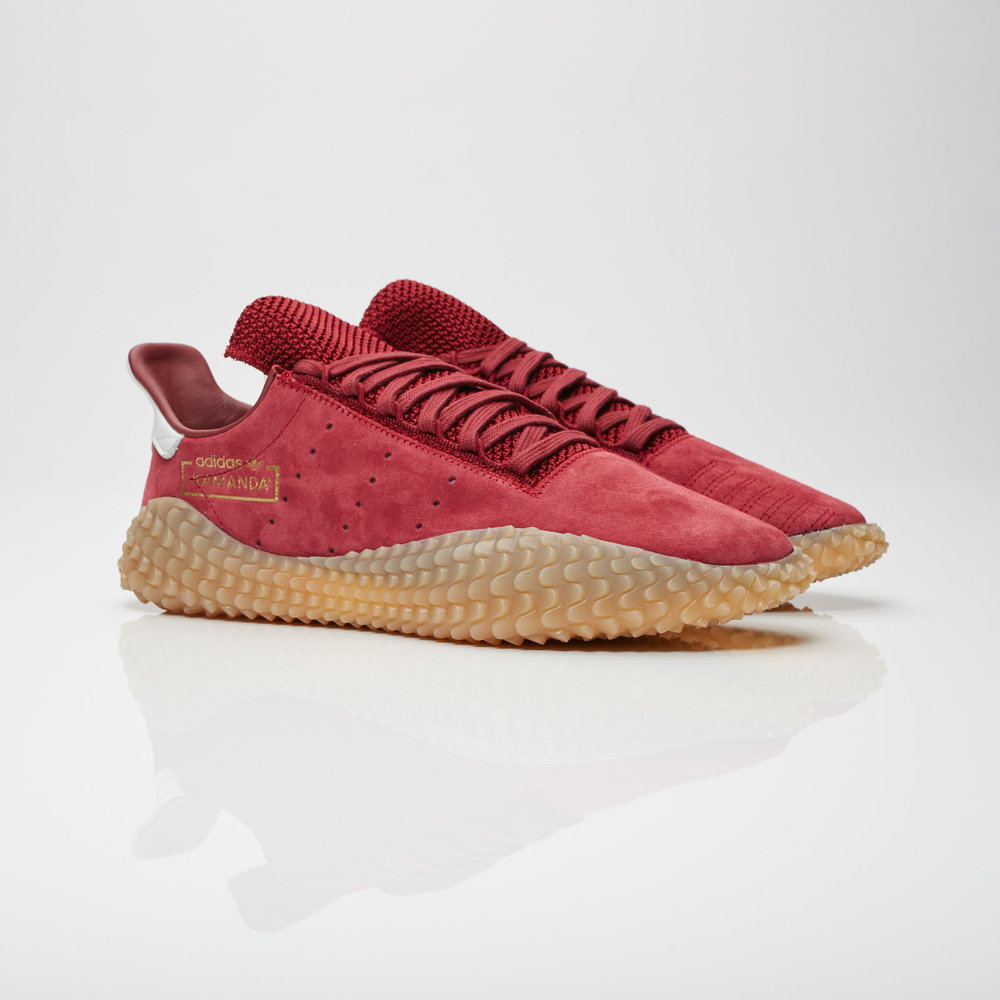 adidas Originals Kamanda burgundy deadlaced