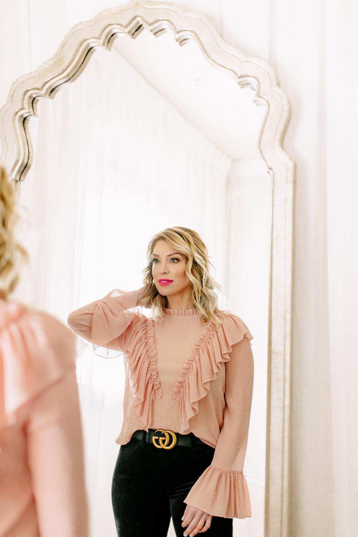 Photo:  Alexa Vossler Photography   Model:  Charla Corn