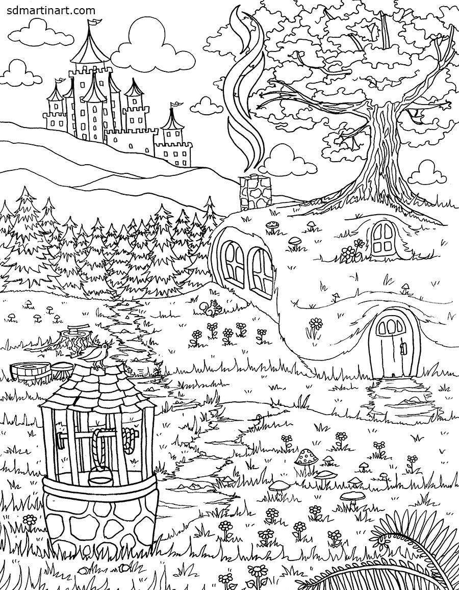I'm currently working on a digital download shop, where you will be able to download coloring pages and print them at home to color.  Creating coloring pages, and eventually a coloring book, has been something I've wanted to do for a while. I love the collaborative art possibilities that coloring pages provide. I may create the illustration, but you can color it in your own way, using your preferred tools, giving the illustration a completely unique character and quality. The idea of being able to see how you all breathe life into these illustrations is really exciting to me!  I'll keep you posted here with the progress of the shop & announcements.  I can't wait to so what we create together!
