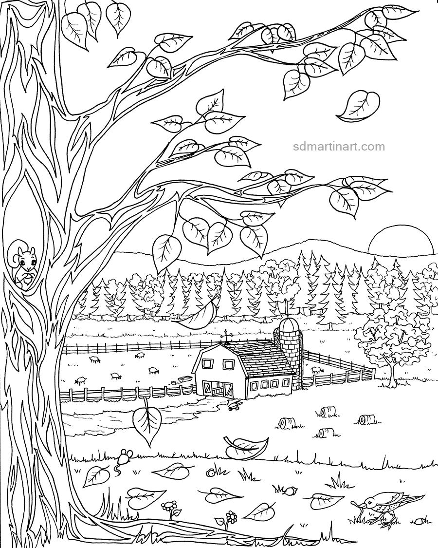 Autumn farm coloring page_completed and edited_LR with WM.jpg