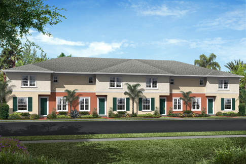 Orchid Grove - Tropical Townhomes and Garden Apartments with Resort Style amenities in Pompano Beach, FL.