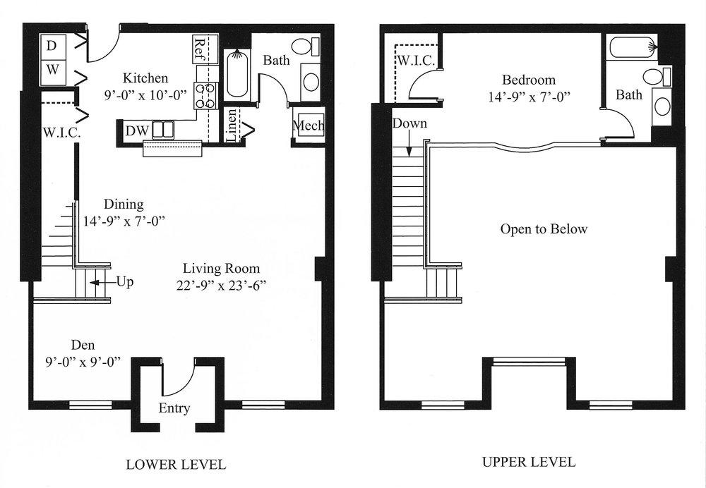 Loft Floor Plan 3