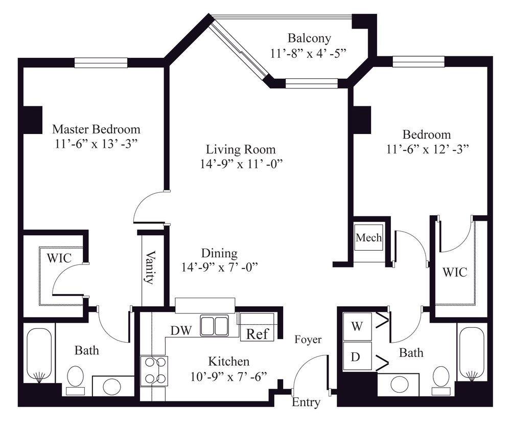 Lilac Floor Plan 4