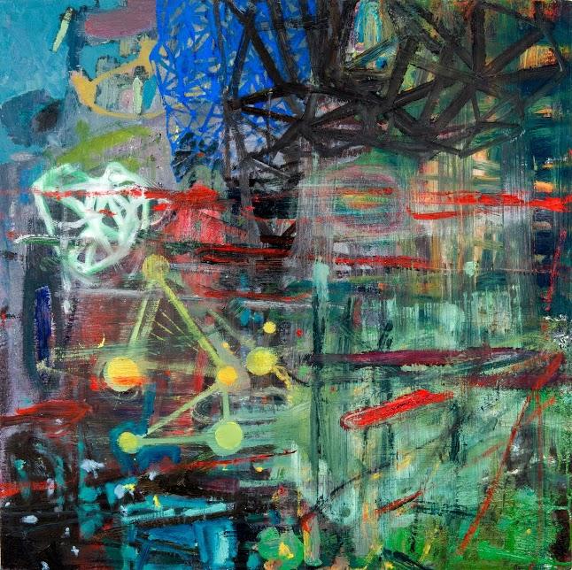 "Josh Weiss, Untitled, 31"" x 31"""