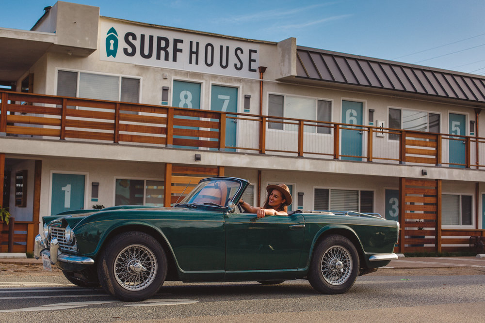 The Surfhouse! - There are plenty of charming locations to stay in Leucadia and Encinitas, including inns, hotels, and Air BNBs. However, we highly recommend the The Surfhouse, an adorable boutique hotel owned by our friends!