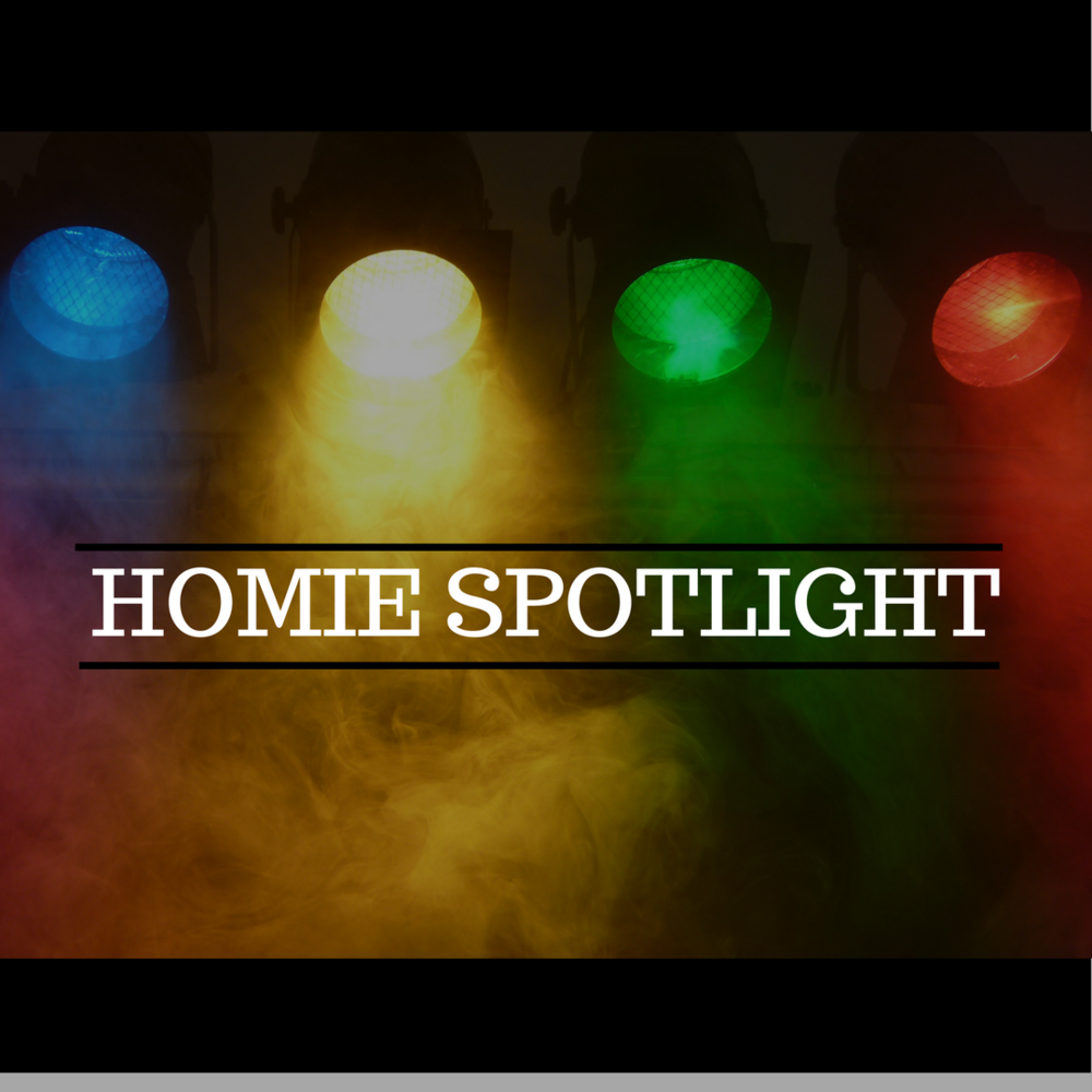 We want to know more about all of you, your music, your work, your company, current projects etc. If you'd like to be a featured HOMIE, please click  HERE  to let us know and we'll contact you soon for an interview.