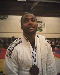 My first Brazilian Jiu Jitsu tournament.