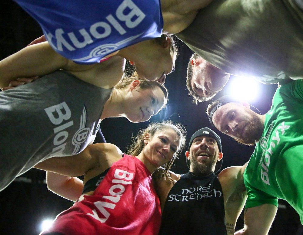 The (big) 12 Labours Lions during 2016 Regionals (Photo: Tai Randall, CrossFit Games)