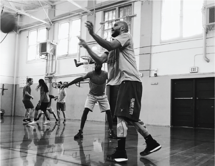 Basketball   The Oakland Unified Basketball Club (OUBC) is a mixed-skills hoop community. a 20-player open gym at Oakland International High School.Open gyms are scheduled every Saturday from 10am to 12pm. First come first play. EBAC Membership is required.