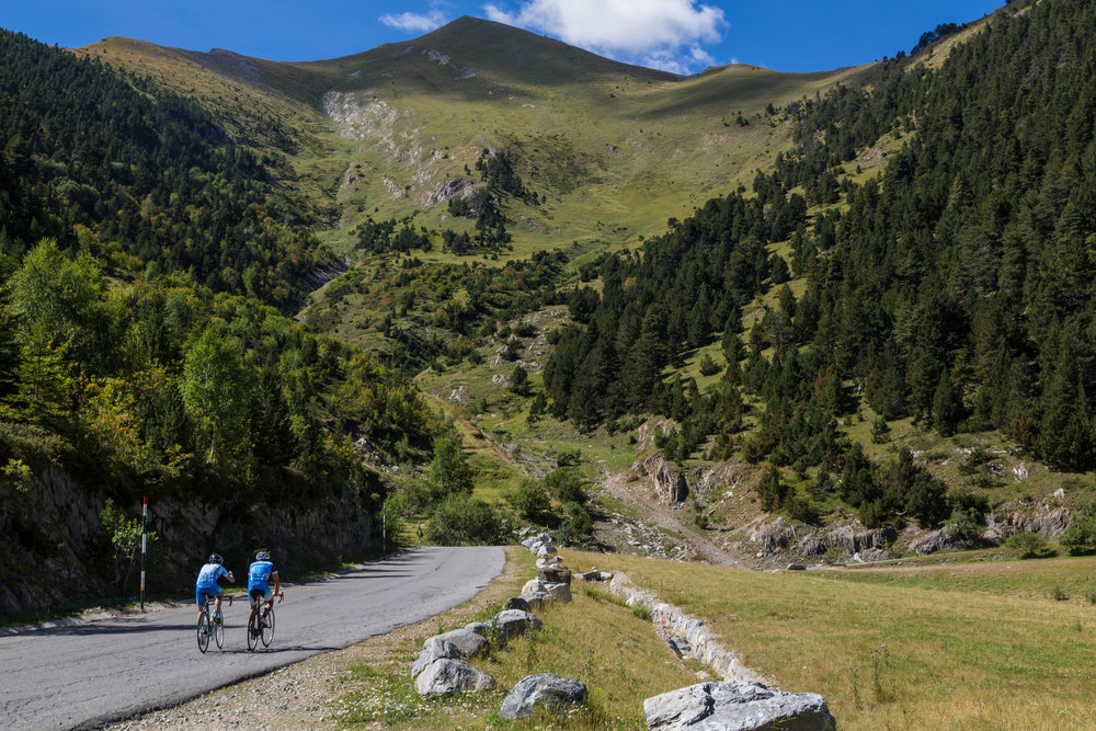 Once you leave 'the city' its not long before you are alone with your thoughts among Andorra's peaks.