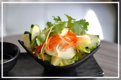 Pineapple & Cucumber Salad