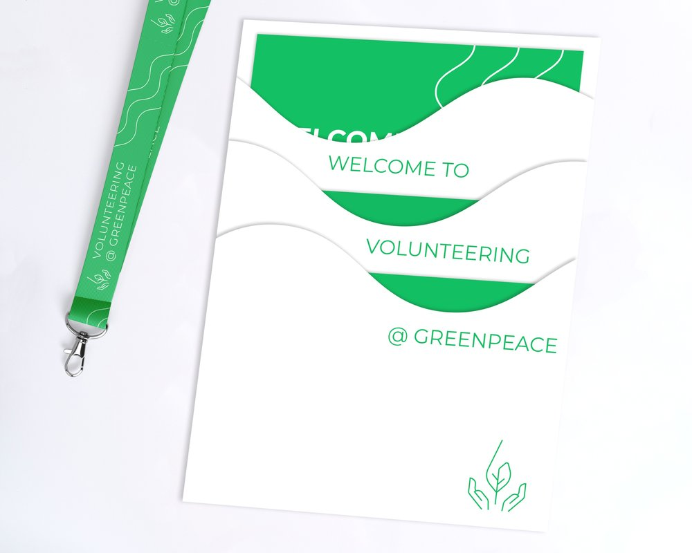 Greenpeace - Creating a new onboarding experience for volunteers