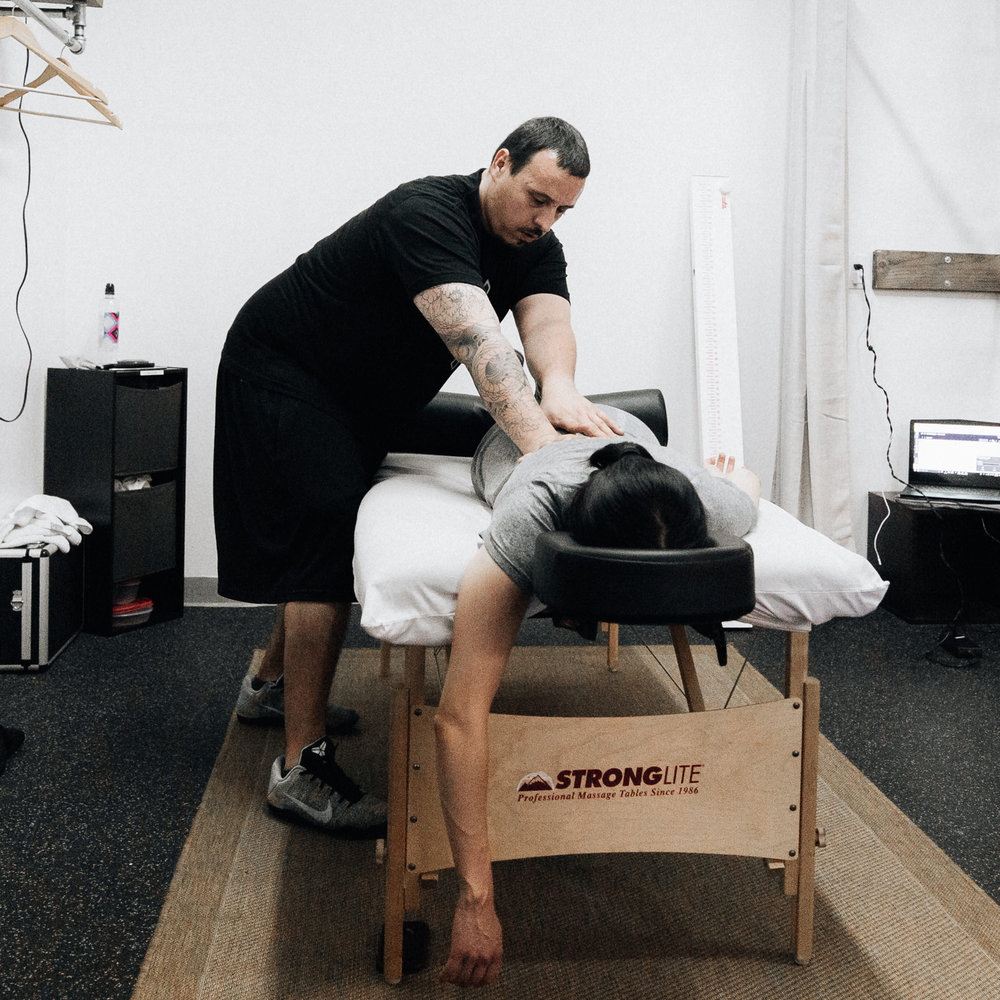 Treat yourself to some care - Members have the opportunity to schedule a bodywork session to treat sore muscles and any areas of pain. With sessions ranging from 30 to 60 minutes, you'll be sure to go home feeling better knowing that you treated your body well.