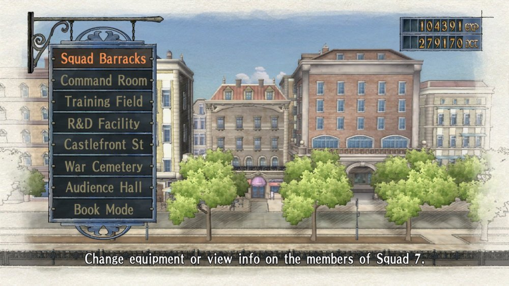 Valkyria Chronicles Headquarters